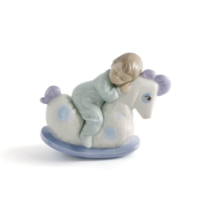 """Nao """"Rock Me to Sleep"""" Porcelain Figurine"""