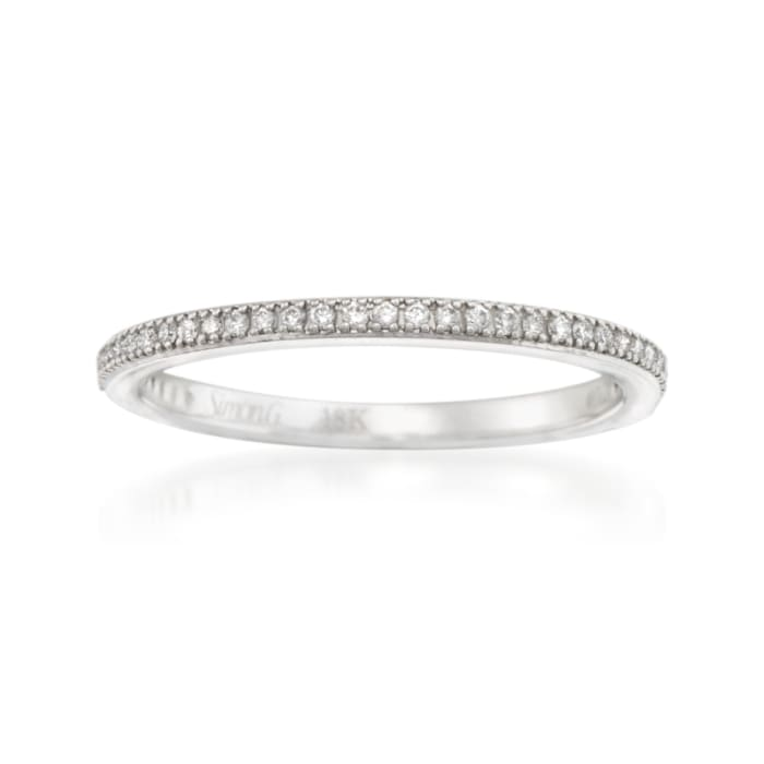 .15 ct. t.w. Diamond Wedding Band in 18kt White Gold