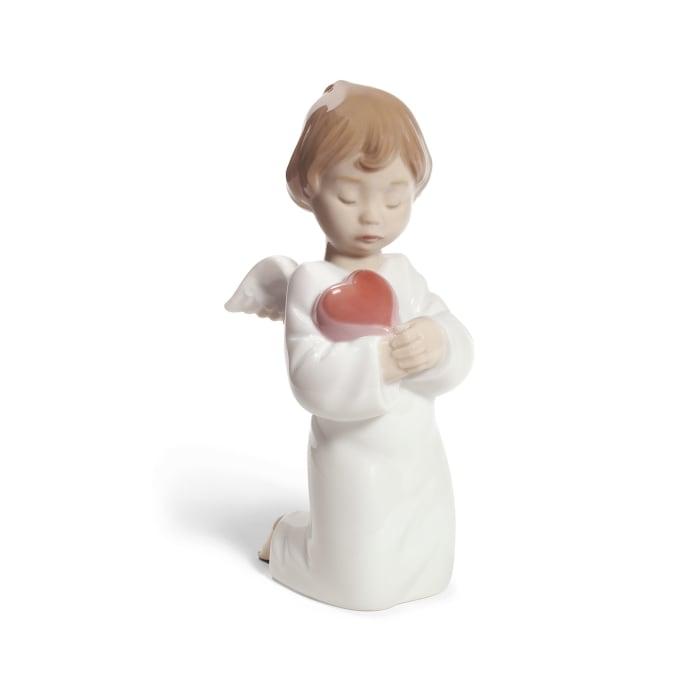 "Nao ""Angelic Love"" Porcelain Figurine"