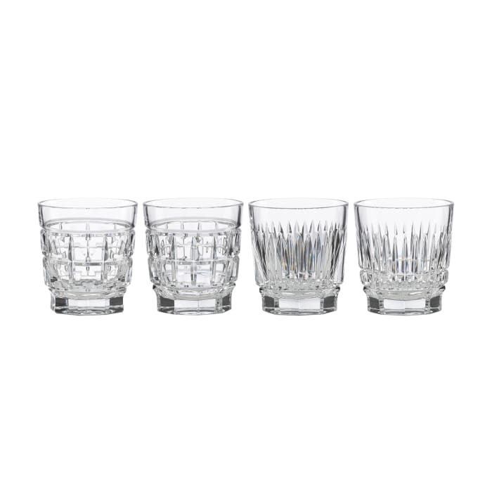 "Reed & Barton ""New Vintage"" Set of 4 Whiskey Glasses"