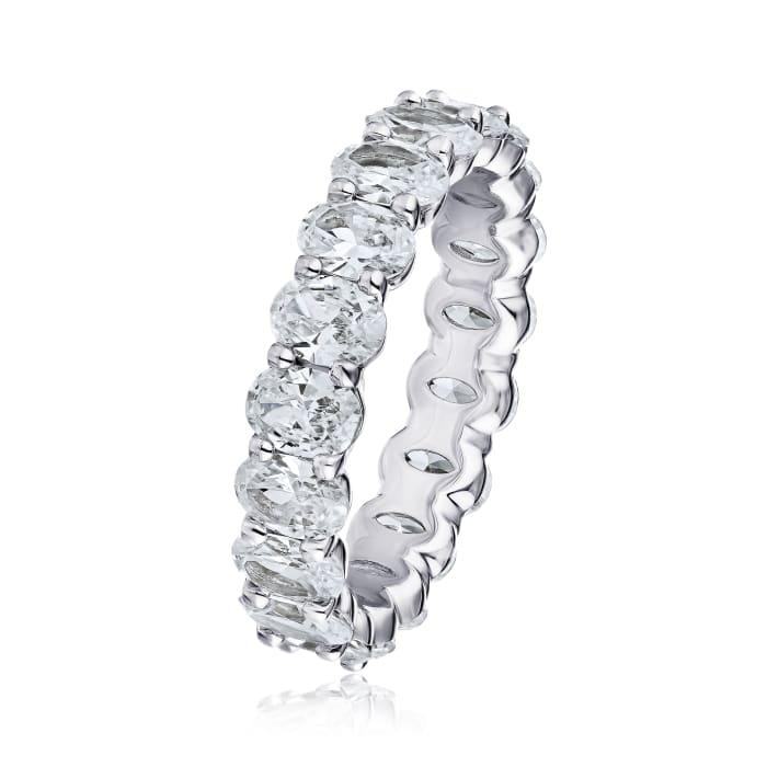 3.40 ct. t.w. Diamond Eternity Wedding Band in Platinum