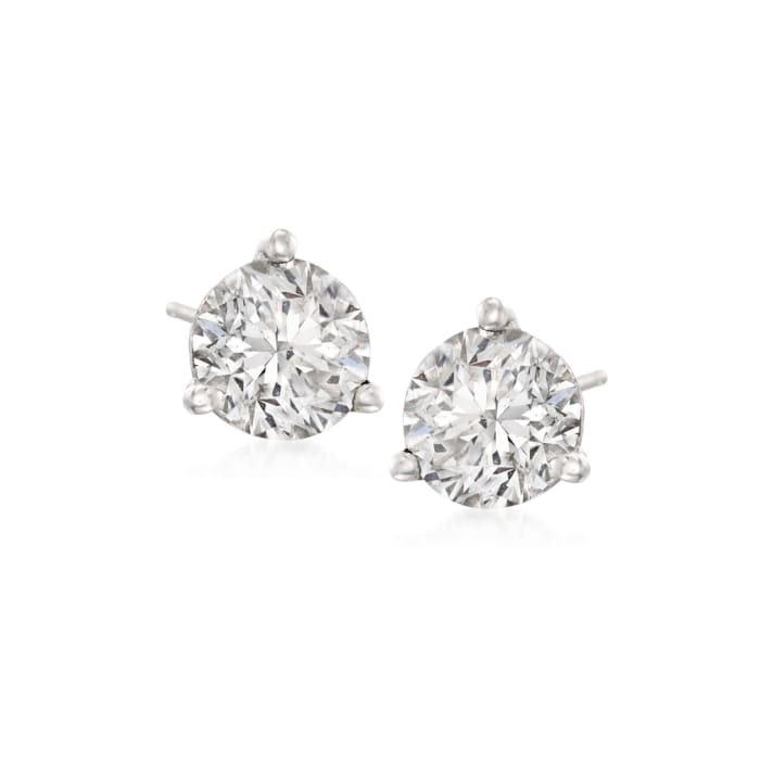 2.00 ct. t.w. Diamond Martini Stud Earrings in Platinum