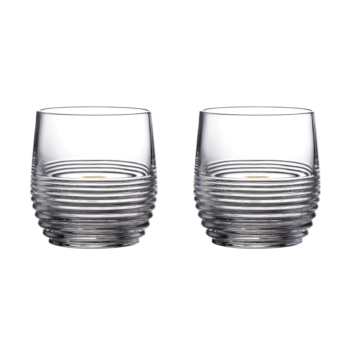 "Waterford Crystal ""Mixology Circon"" Set of 2 Tumbler Glasses"