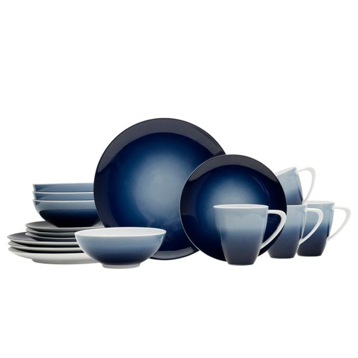 "Mikasa ""Naya"" Blue 16-pc. Service for 4 Dinnerware Set"