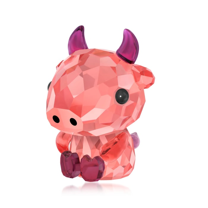 "Swarovski Crystal ""Dependable Ox - Chinese Zodiac"" Crystal Figurine"