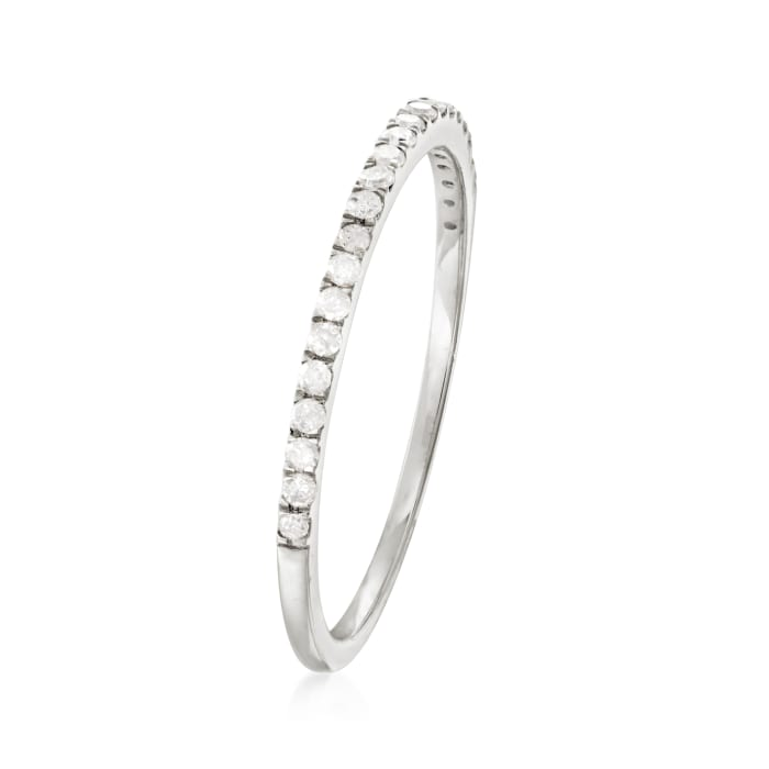 .15 ct. t.w. Diamond Stackable Ring in 14kt White Gold