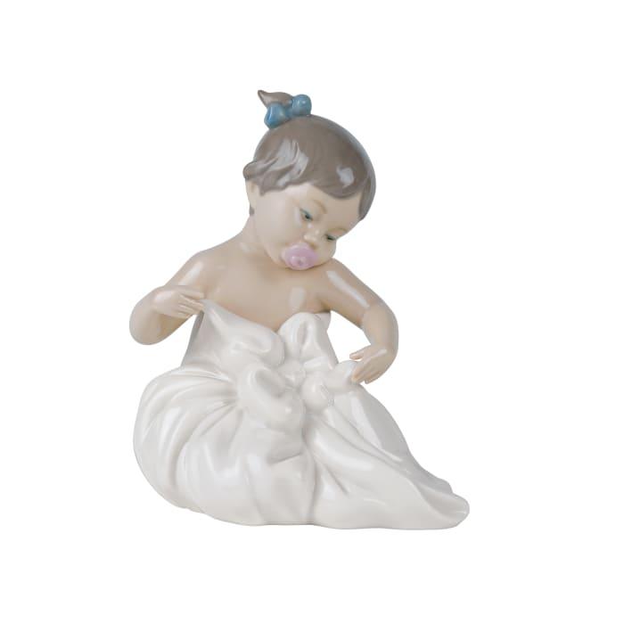 """Nao """"My Blanky"""" Porcelain Figurine"""