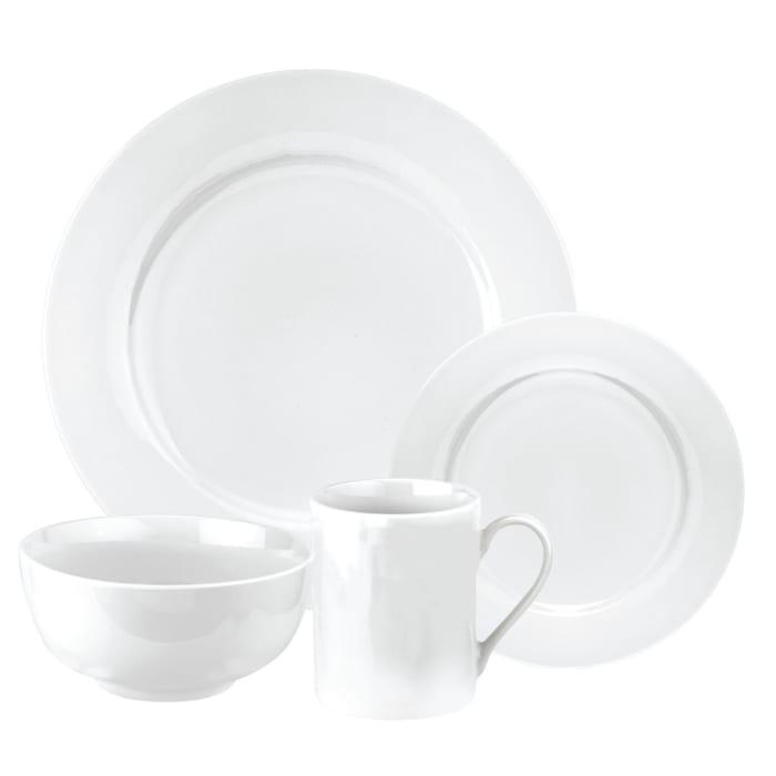 "Spode ""Pearl White"" 16-pc. Service for 4 Dinnerware Set"
