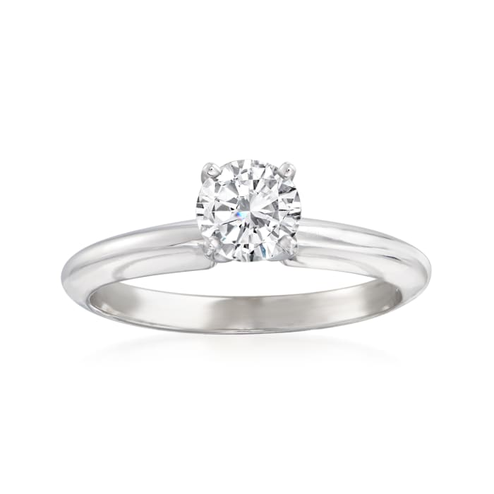 .63 Carat Diamond Solitaire Ring in 14kt White Gold