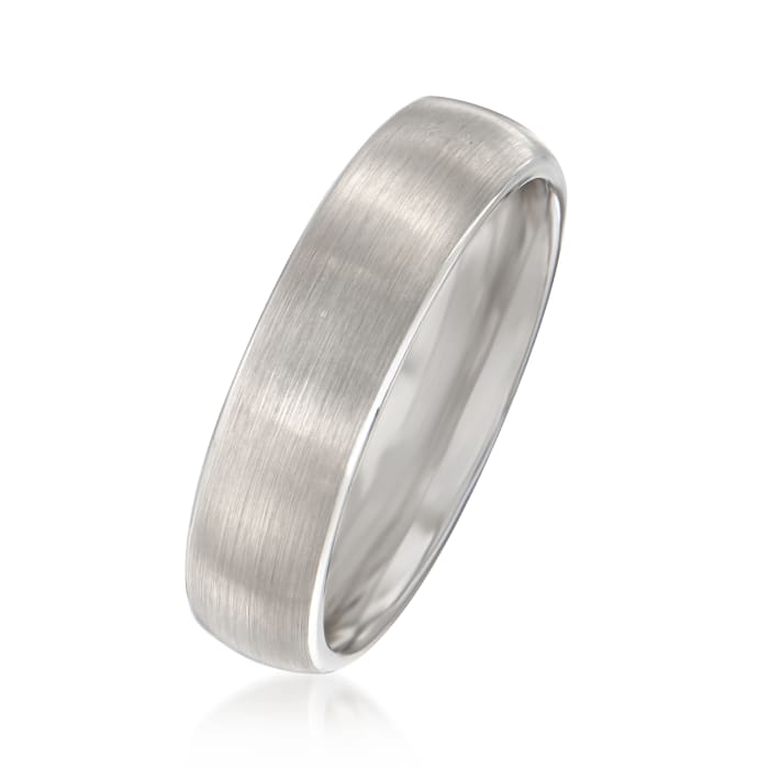 Men's 6mm Tungsten Carbide Wedding Ring