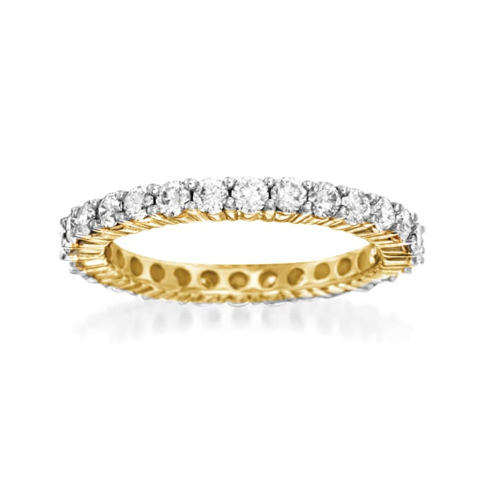1.50 ct. t.w. Diamond Eternity Band in 14kt Yellow Gold