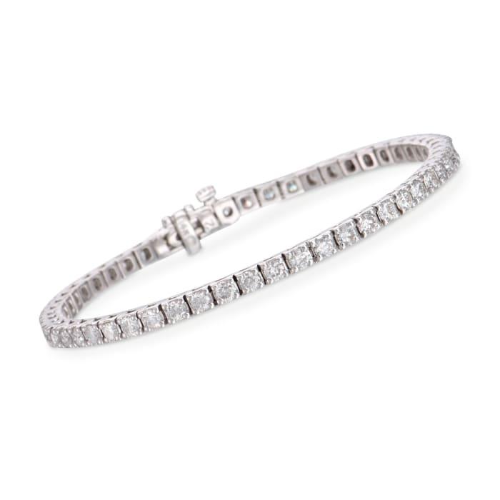 4.00 ct. t.w. Diamond Tennis Bracelet in 14kt White Gold