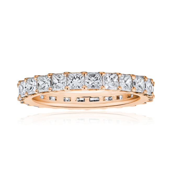 1.90 ct. t.w. Diamond Wedding Eternity Band in 14kt Rose Gold