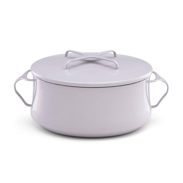 """Dansk """"Kobenstyle"""" Lavender Casserole Pan with Lid"""