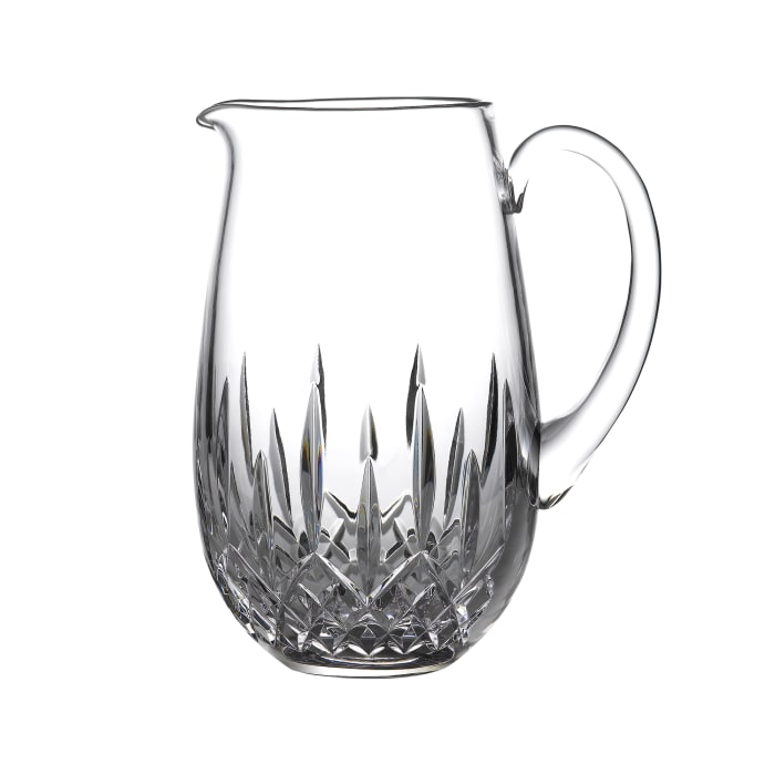 """Waterford Crystal """"Nouveau"""" Lismore Pitcher"""