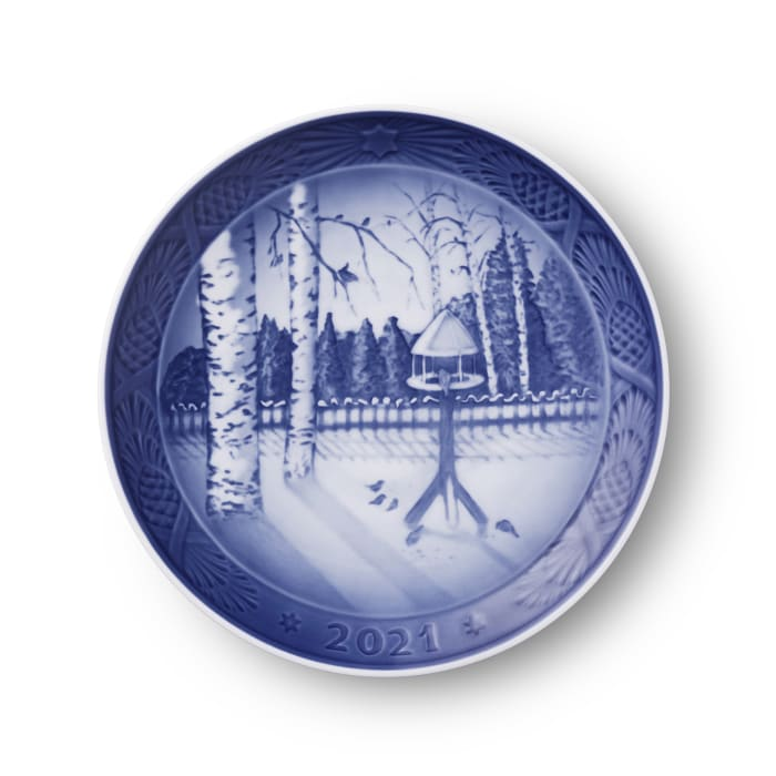 Royal Copenhagen 2021 Annual Porcelain Christmas Plate - 114th Edition