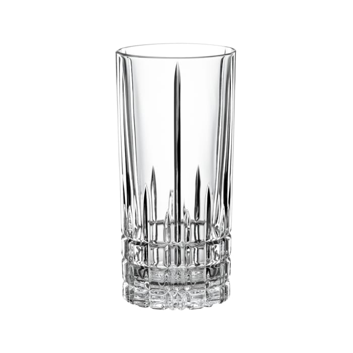 """""""Perfect"""" Set of 4 Long Drinking Glasses"""