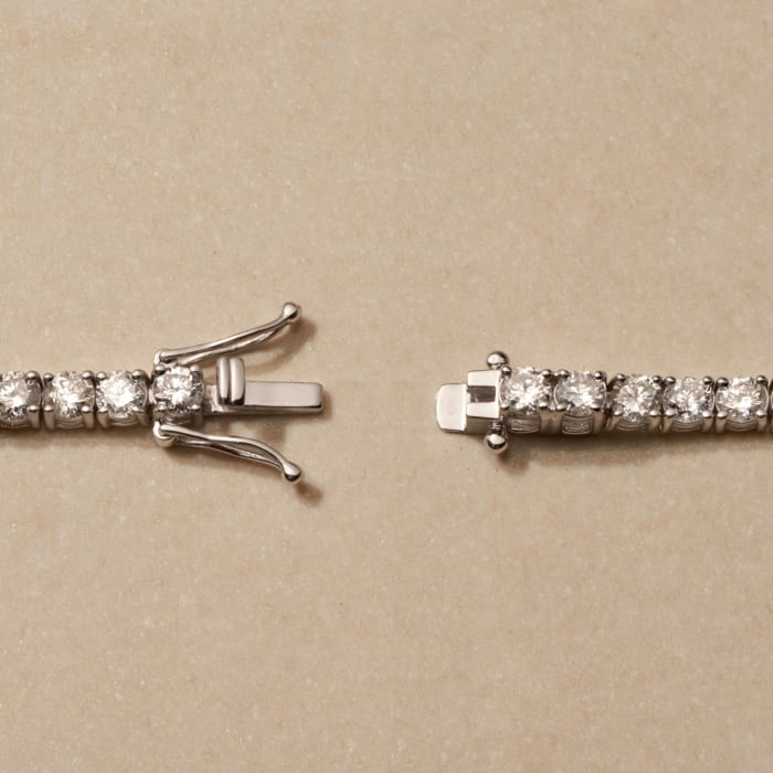 8.00 ct. t.w. Diamond Tennis Bracelet in 14kt White Gold