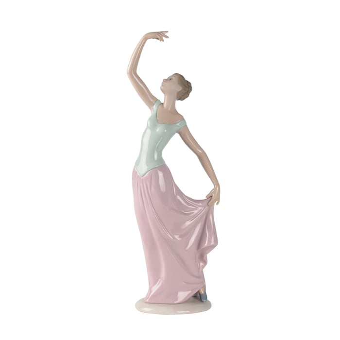 "Nao ""Dance is Over"" Porcelain Figurine"