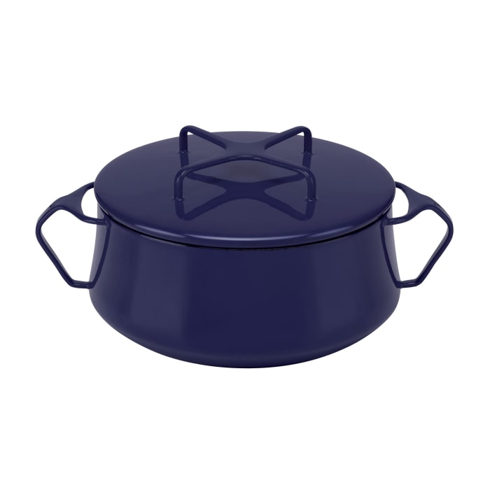 "Dansk ""Kobenstyle"" Midnight Blue Small Casserole Pot with Lid"