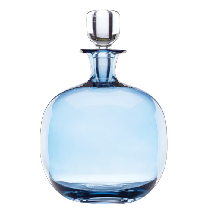 "Lenox ""Valencia"" Blue Decanter"