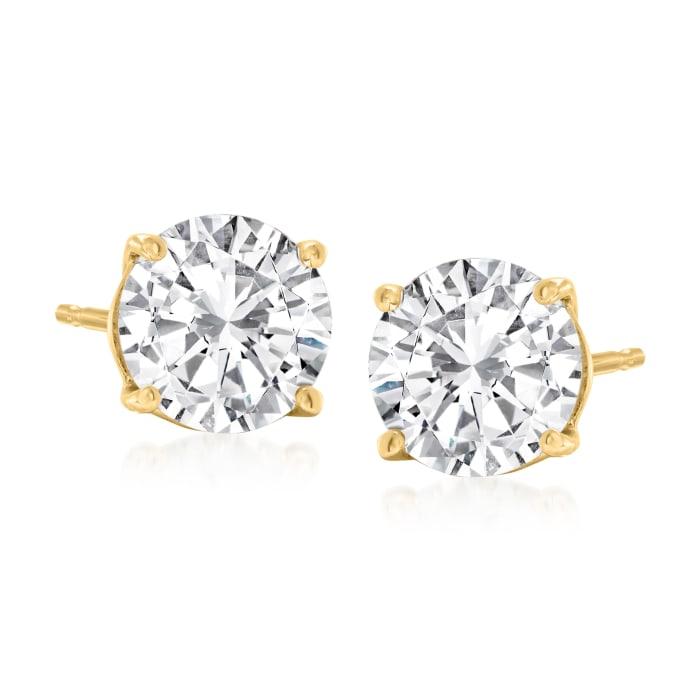 2.00 ct. t.w. Diamond Stud Earrings in 14kt Yellow Gold