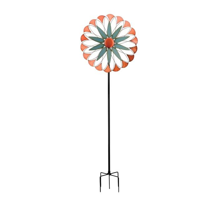 "Regal ""Diamond"" Metal Outdoor Wind Spinner"