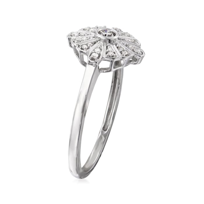 .15 ct. t.w. Diamond Disc Ring in 14kt White Gold