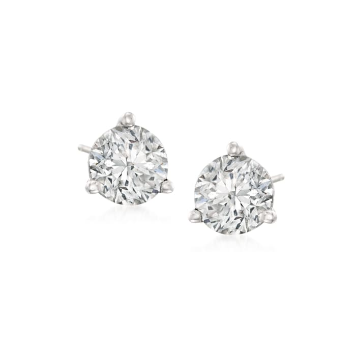 .50 ct. t.w. Diamond Martini Stud Earrings in Platinum