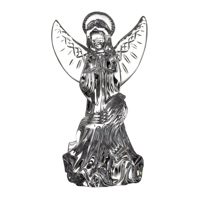 "Waterford Crystal ""Gift Bar"" Lismore Angel Figurine"
