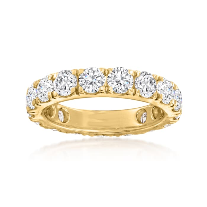 4.00 ct. t.w. Diamond Eternity Band in 14kt Yellow Gold