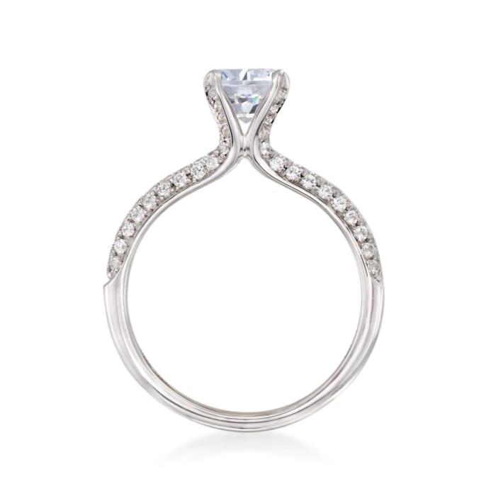 Simon G. .42 ct. t.w. Diamond Engagement Ring Setting in 18kt White Gold
