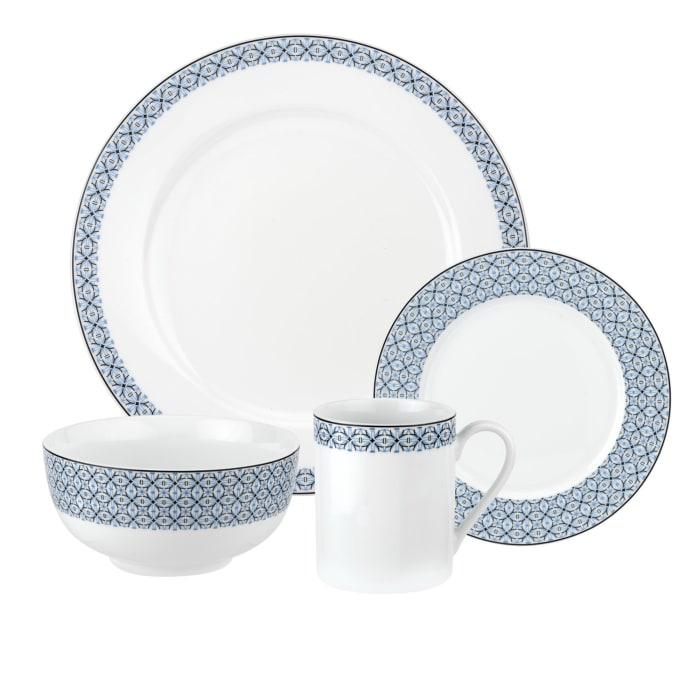 """Spode """"Mallorca"""" 16-pc. Service for 4 Dinnerware Set"""