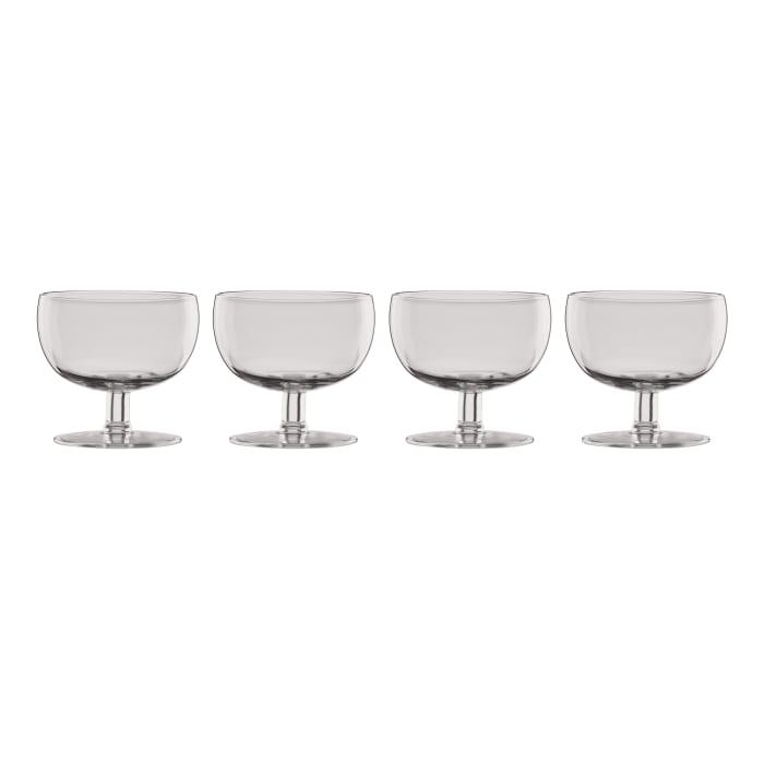 "Lenox ""Valencia"" Set of 4 Smoke Cocktail Glasses"