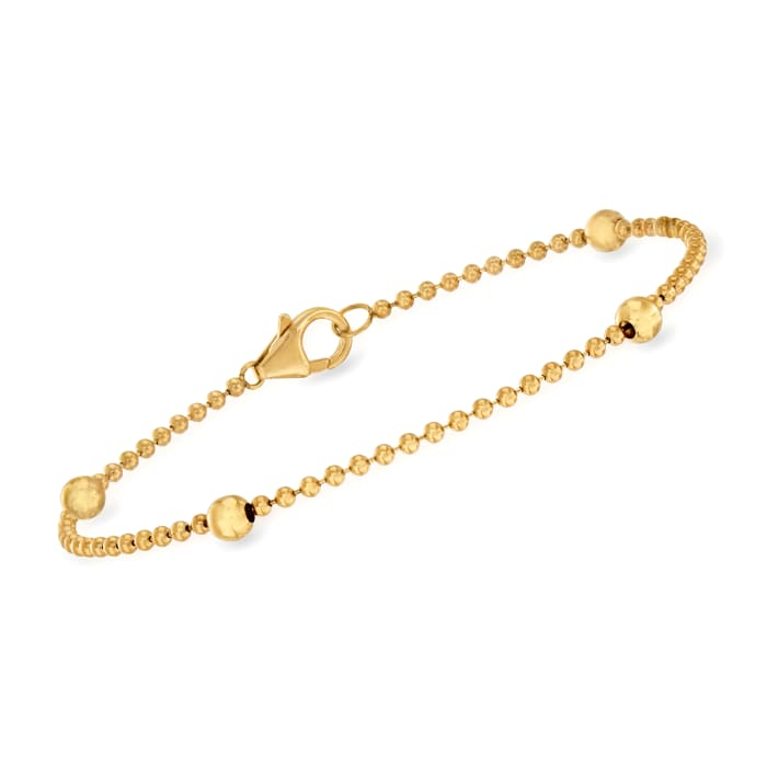 "Roberto Coin ""Barocco"" 1.00 ct. t.w. Diamond  Tassel Pendant Necklace in 18kt Yellow Gold"