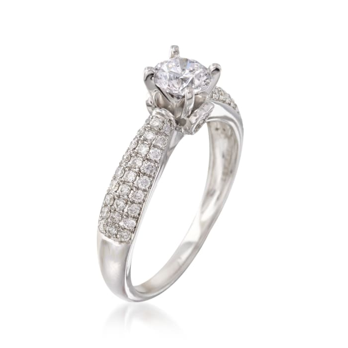 .96 ct. t.w. Diamond Ring in 14kt White Gold
