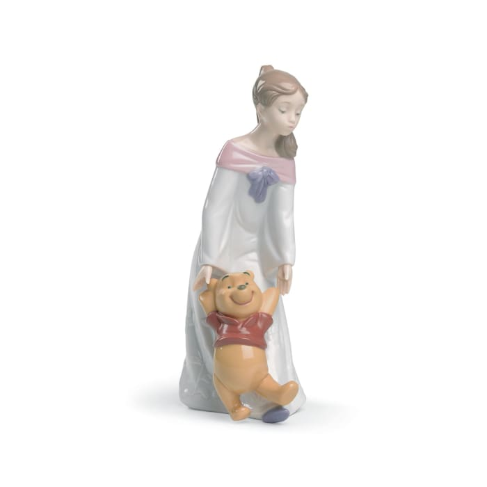 "Nao ""Fun with Winnie the Pooh"" Porcelain Figurine"