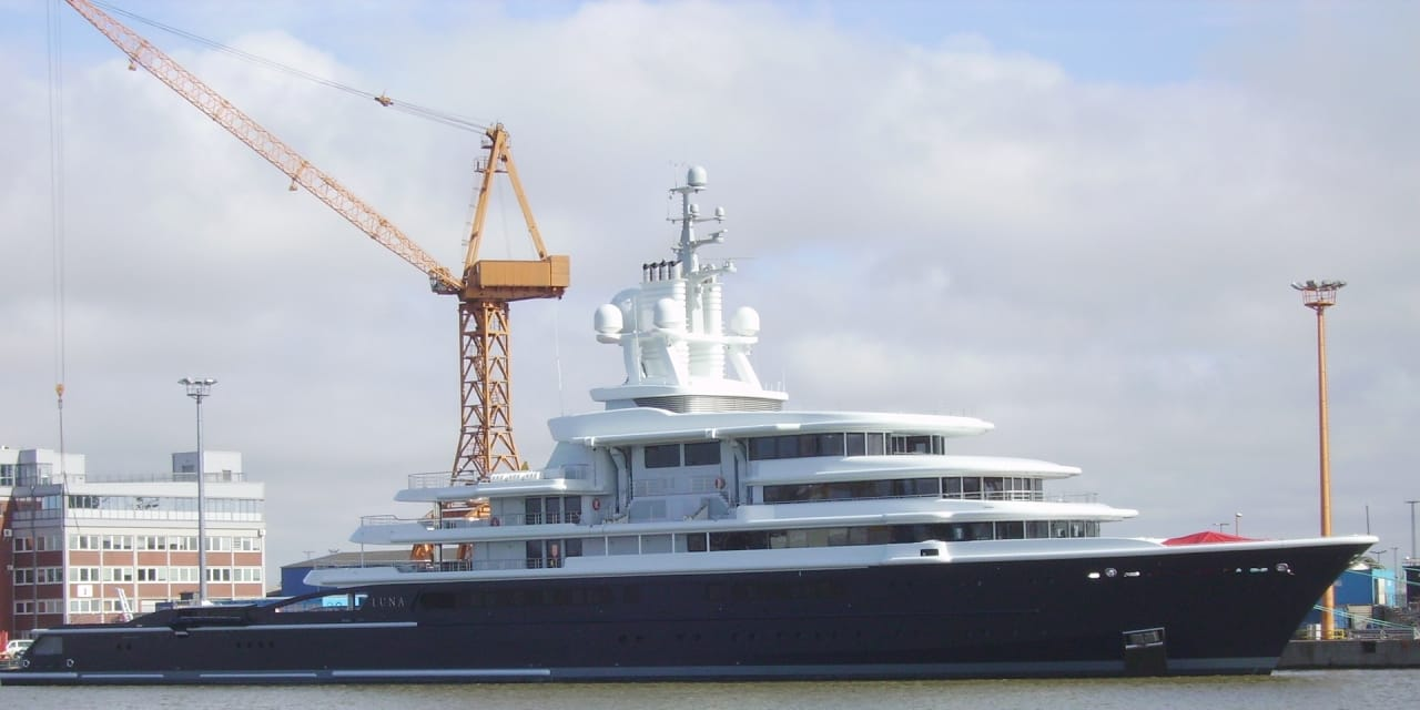 English court orders transfer of Russian billionaire's luxury yacht to ex-wife