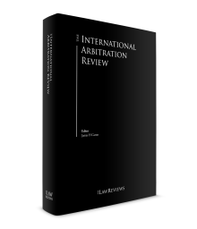 United States - The International Arbitration Review - Edition 9