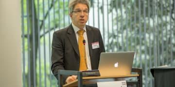 Disruptive innovators create competition to define markets, Larouche says