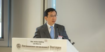 Hong Kong judge examines private litigation