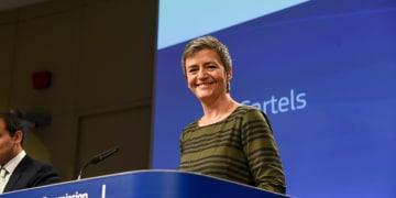European champion could be devastating, says Vestager