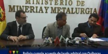 Bolivia agrees to pay ICSID award