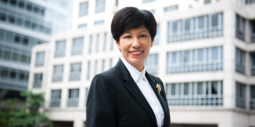 One-to-one with Singapore's senior minister of state Indranee Rajah