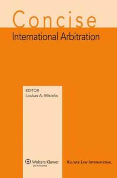 BOOK REVIEW: Concise International Arbitration