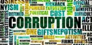 Where corruption rears its ugly head