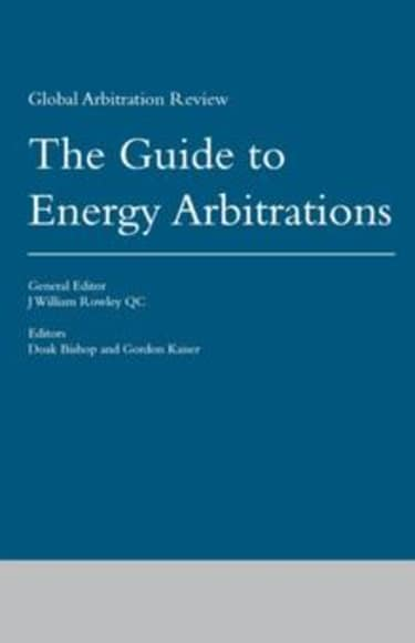 GAR launches guide to energy arbitrations