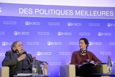 Former OECD head describes challenge of persuading China to sign convention