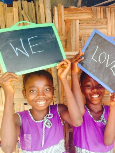 Profits from the GRR Awards go to the Swawou Layout School in Sierra Leone