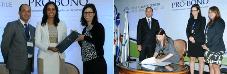 PBDA gains new signatories at Dominican Pro Bono conference
